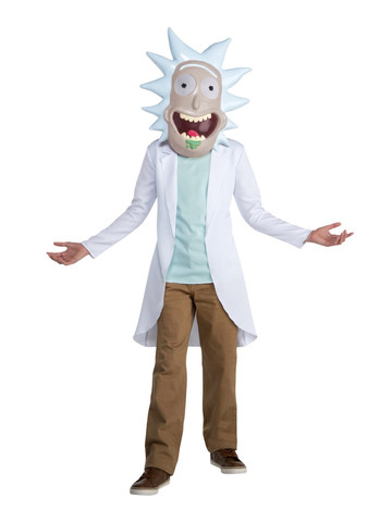 Rick & Morty Teen's Rick Costume