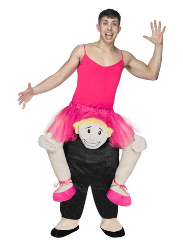 Adult Ride A Ballerina Costume