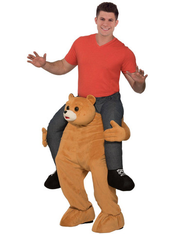 Adult Ride a Bear Costume