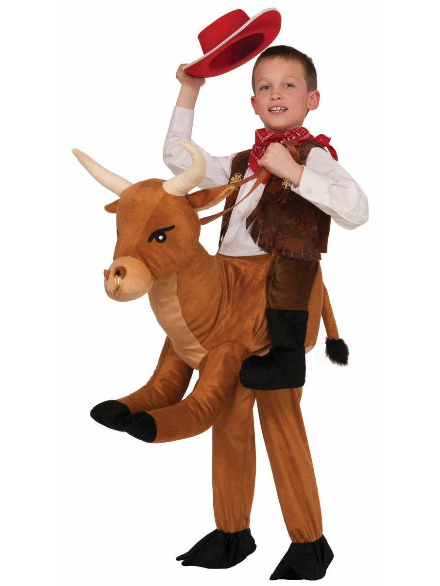 View larger image of Ride a Bull Child Costume