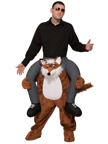 Adult Ride a Fox Costume
