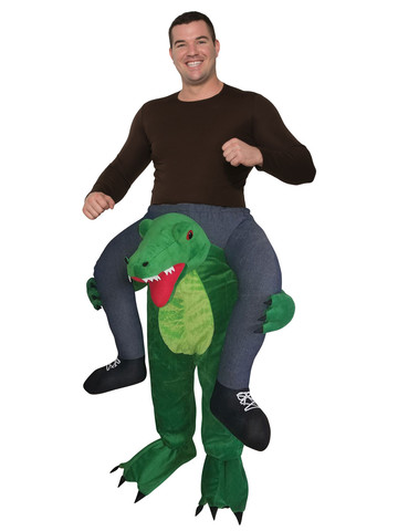Adult Ride a Gator Costume