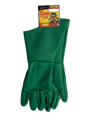 Robin Child Superhero Gloves