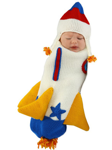 0-3 Months Infant Roger the Rocket Bunting Costume