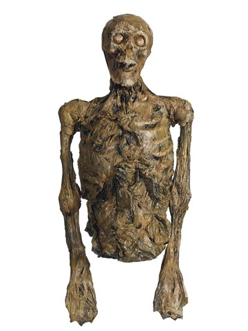 Large Rotting Skeleton Torso Prop