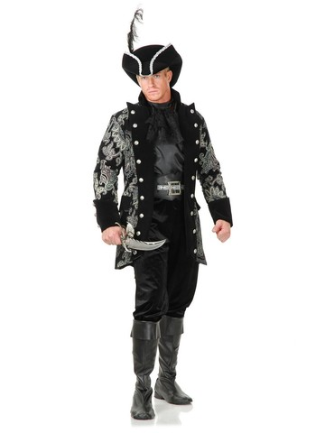 Men's Royal Pirate Captain Jacket