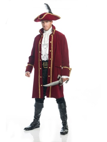 Ruthless Pirate Costume for Men