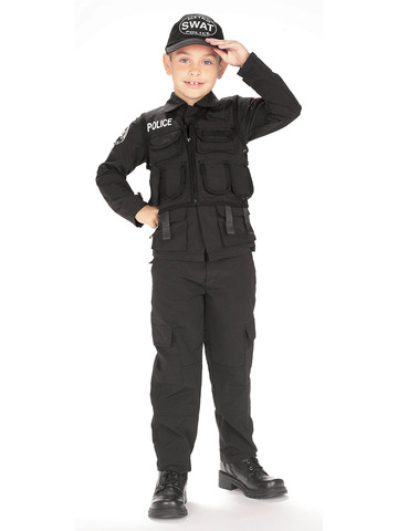 SWAT Police - Childrens Costume