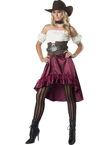 Womens Saloon Gal Costume