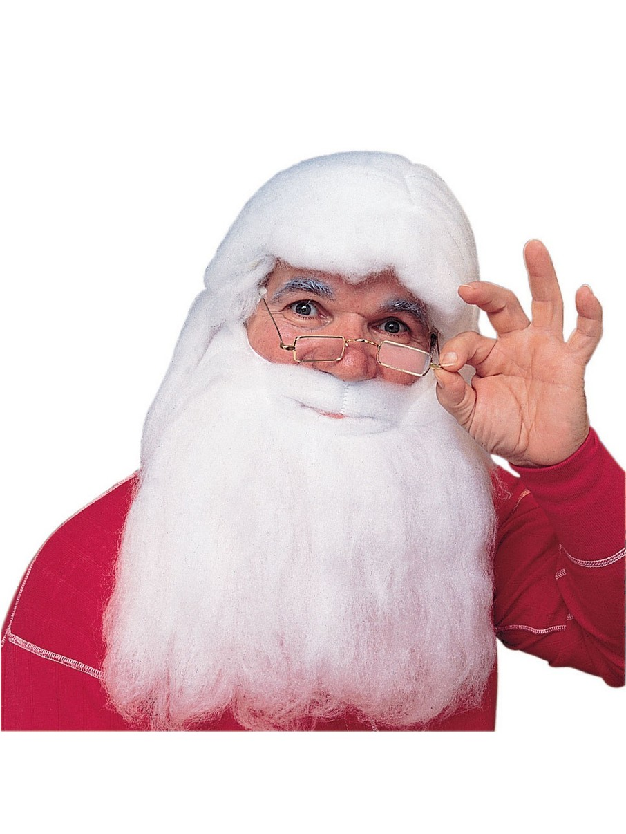 View larger image of Santa Beard and Wig Accessory Set