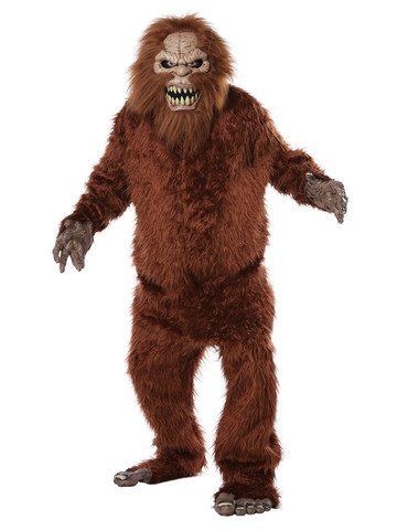 Sasquatch Big Mouth Costume for Adults