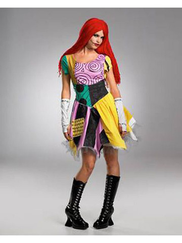 Sassy Deluxe Nightmare Before Christmas Sally Costume