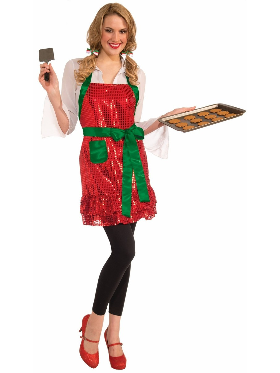 View larger image of Holiday Sequin Apron