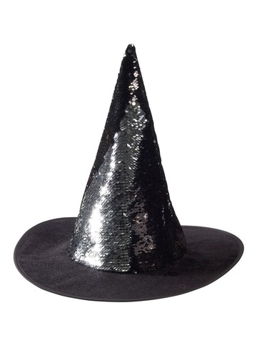 Magical Sequin Witch Hat