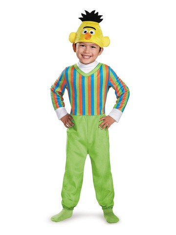 Toddler's Seasame Street Deluxe Bert Costume