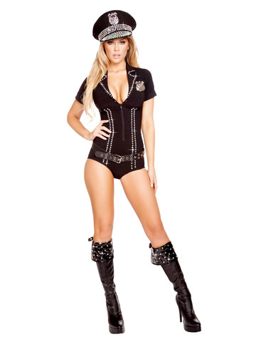Sexy Lusty Law Enforcer Costume
