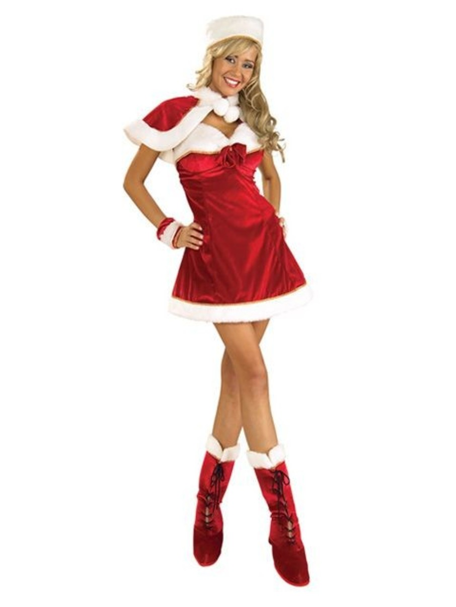 View larger image of Sexy Miss Santa Adult Costume