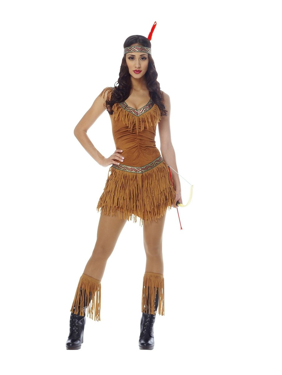 View larger image of Sexy Native American Indian Maiden Adult Costume