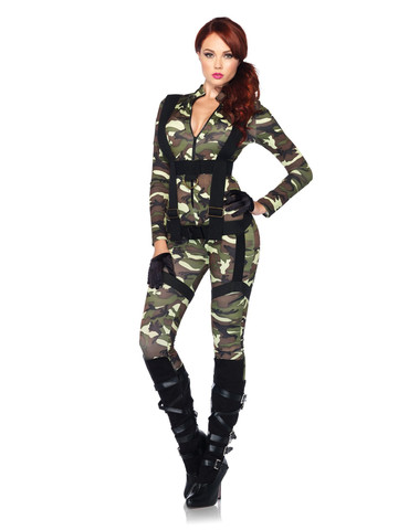 Sexy Pretty Paratrooper Costume