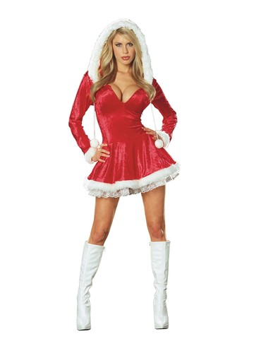 Sexy Santas Sleigh Belle Christmas Costume Adult