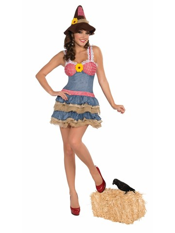Sexy Adult Scarecrow Costume