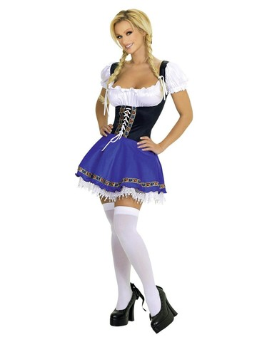 Sexy Service Wench Beer Girl Adult Costume
