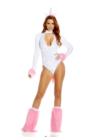 Sexy Womens Sweet Fantasy Unicorn Costume