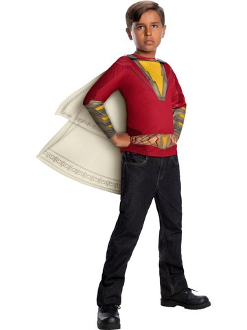 Shazam Deluxe Red Costume For Kids