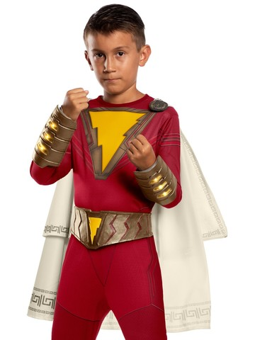 Shazam Belt and Gauntlet Set Kids