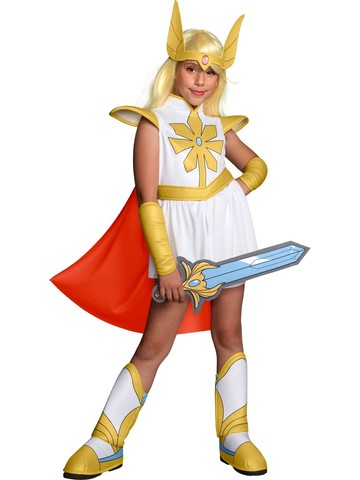 She-Ra and The Prince She-Ra Costume For Kids