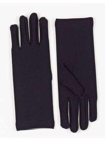 Short Black Dress Gloves