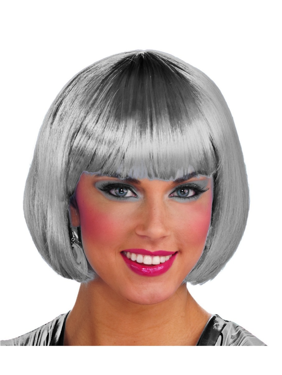 View larger image of Silver Bob Wig