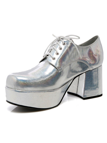 Silver Pimp Adult Shoes