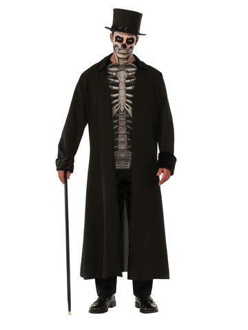 Adult Skull Mob Costume