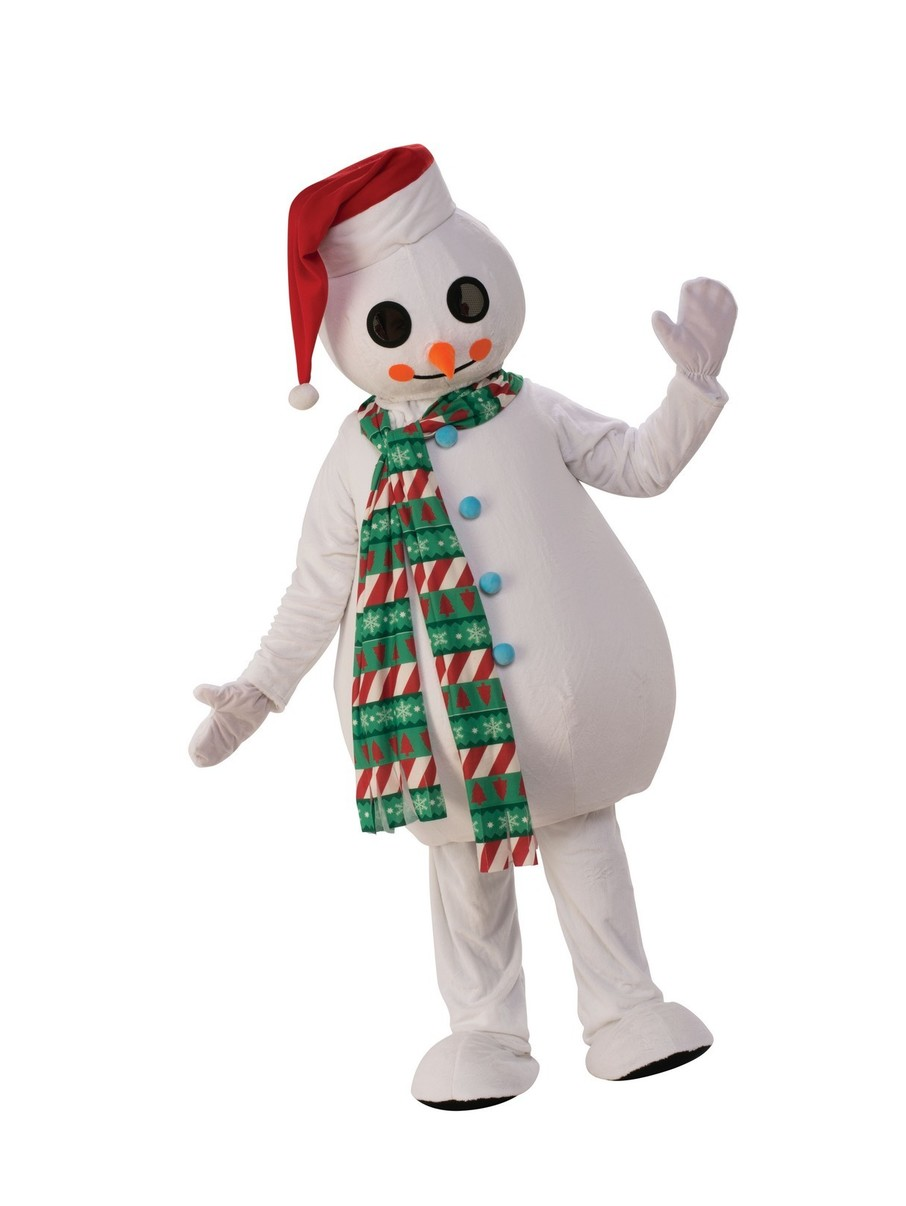 View larger image of Adult Christmas Snowman Costume
