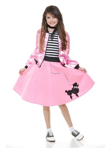 Sweetheart Girl Sock Hop Skirt for Kids