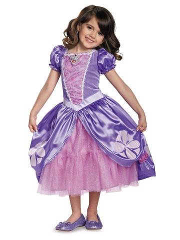 DISNEY SOFIA THE FIRST TODDLER HALLOWEEN COSTUME LARGE