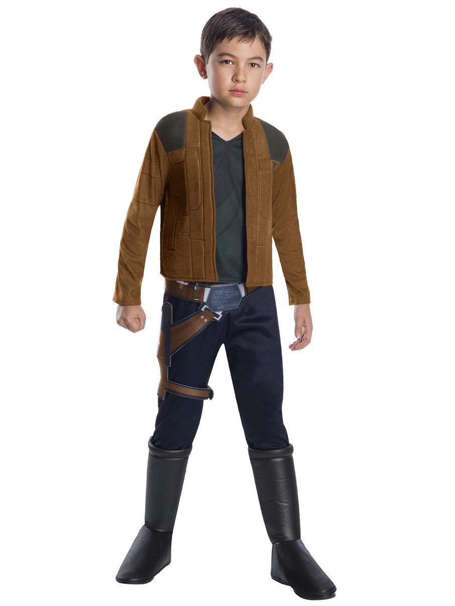 View larger image of Solo: A Star Wars Story-Han Solo Deluxe Boys Costume