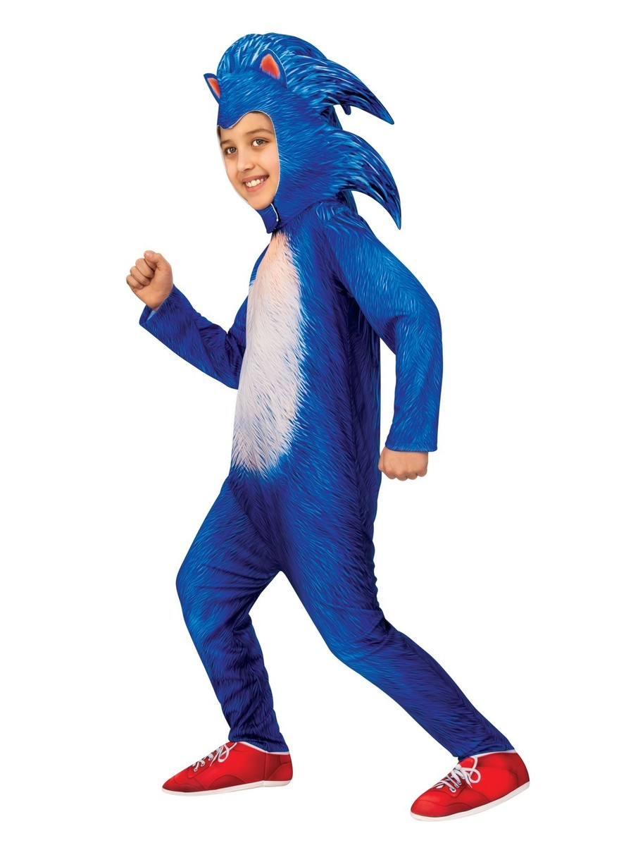 View larger image of Child Deluxe Sonic Costume - Sonic the Hedgehog Movie
