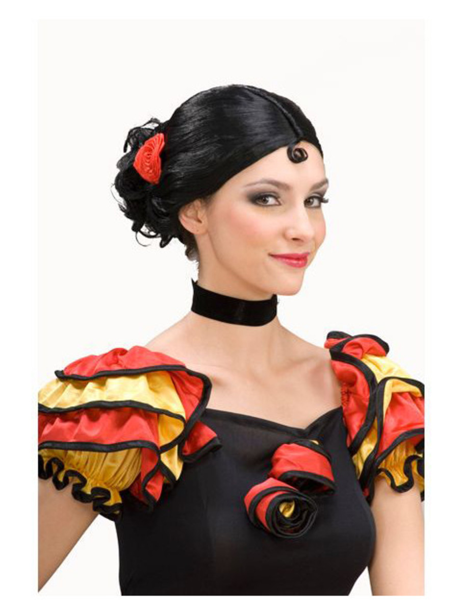 View larger image of Spanish Senorita Wig