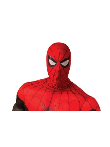 Spider-Man: Far From Home Adult Spider-Man Red/ Black Fabric Mask Accessory