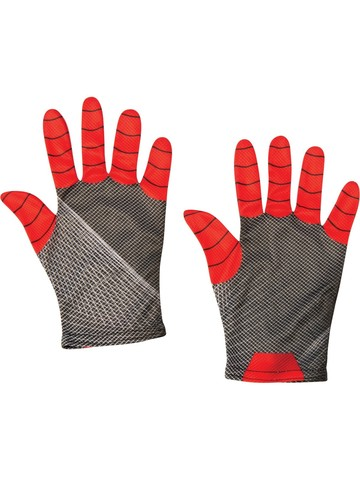 Spider-Man: Far From Home Spider-Man Adult Red/ Black Gloves