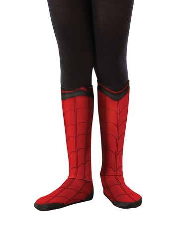 Spider-Man: Far From Home Child Spider-Man Fabric Boot Tops Accessory