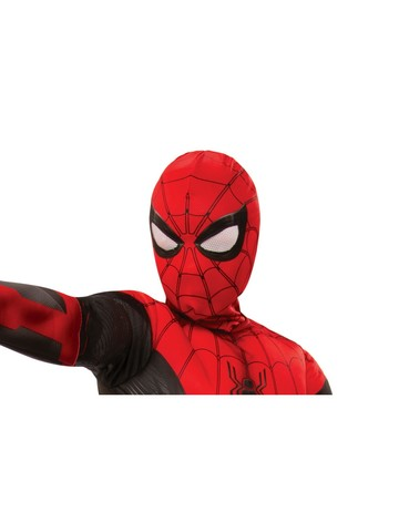 Spider-Man: Far From Home Child Spider-Man Red/ Black Fabric Mask Accessory