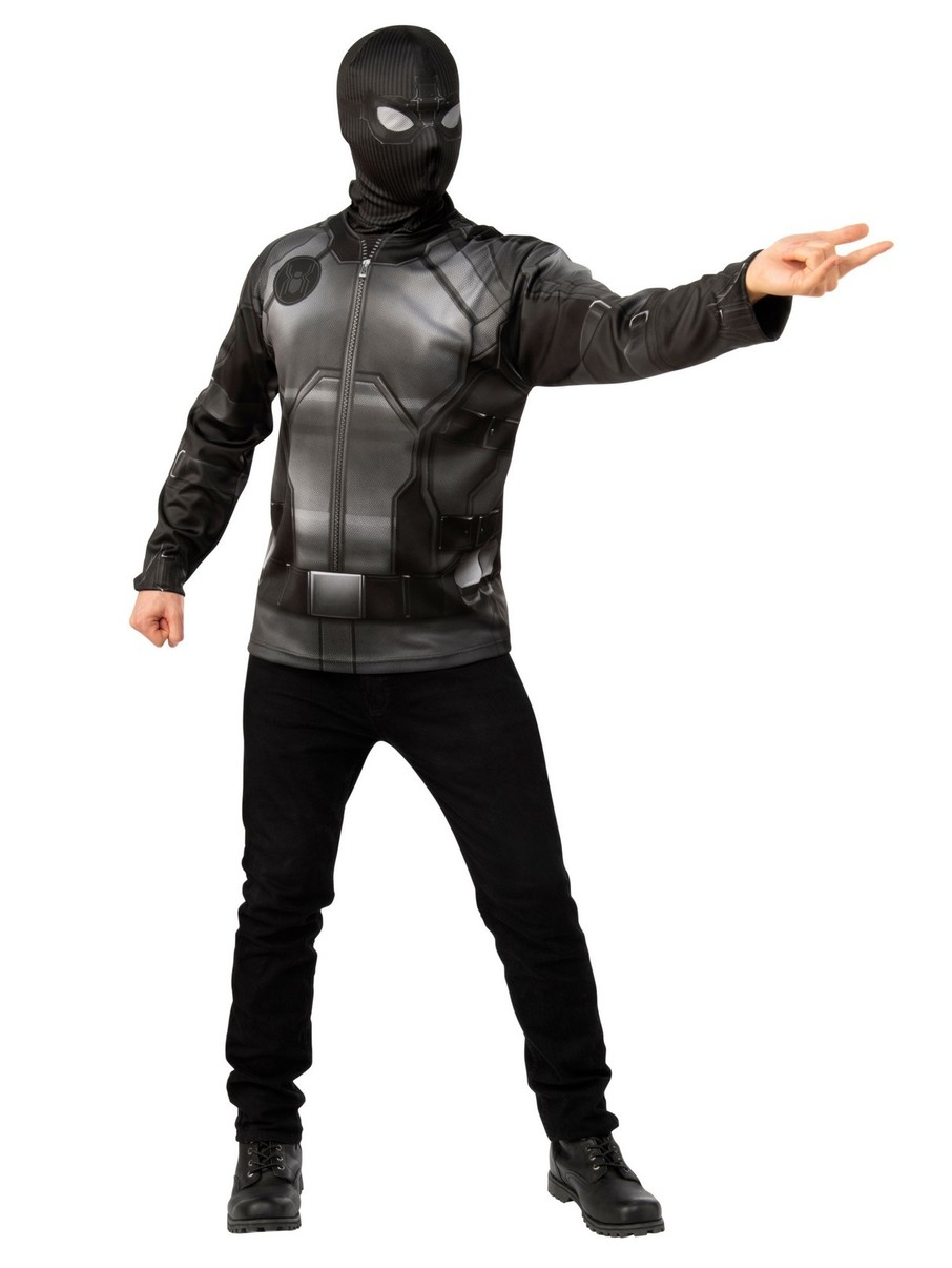 View larger image of Spider-Man FFH Black & Gray Costume Top