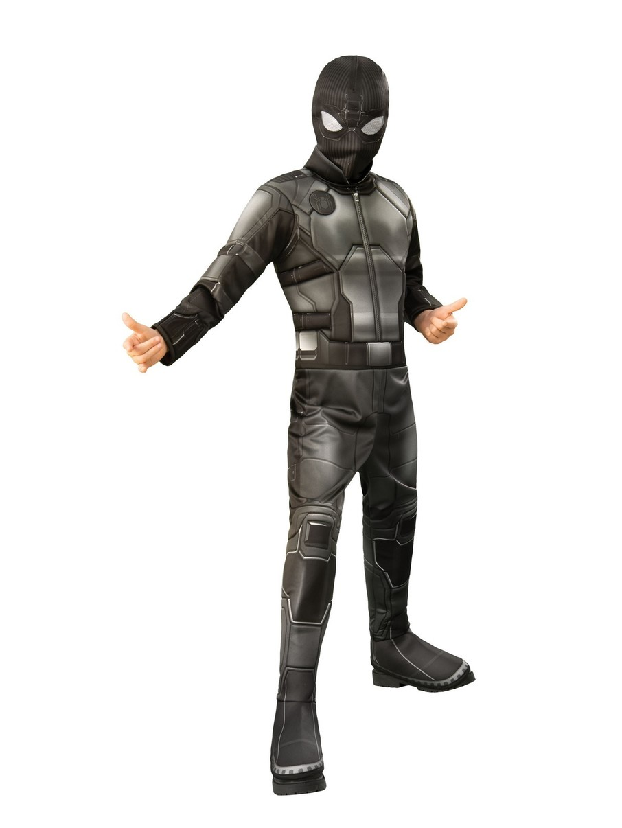 View larger image of Spider-Man FFH Black & Gray Deluxe Costume