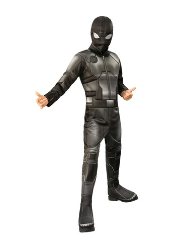 Spider-Man FFH Black & Gray Deluxe Costume