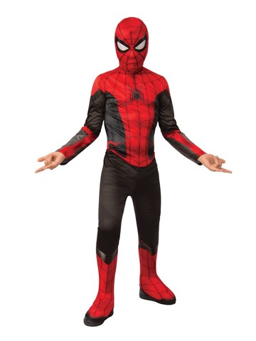 Spider-Man FFH Red & Black Costume Suit For Kids