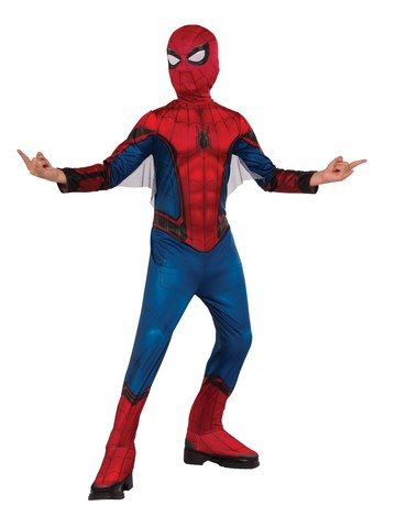 Spider-Man FFH Red & Blue Costume Suit For Kids