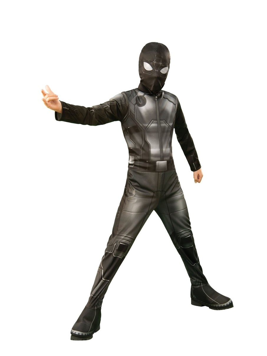 View larger image of Spider-Man FFH Black & Gray Suit For Kids